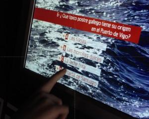 Pregunta del trivial interactivo con cuestiones sobre el mar