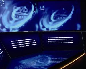 Expacio dedicado a la proyección audiovisual