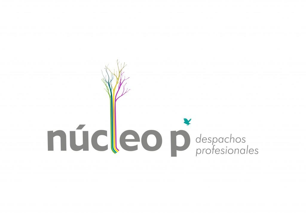 Logotipo marca núcleo P