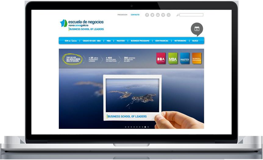 Web escuela de negocios ncg