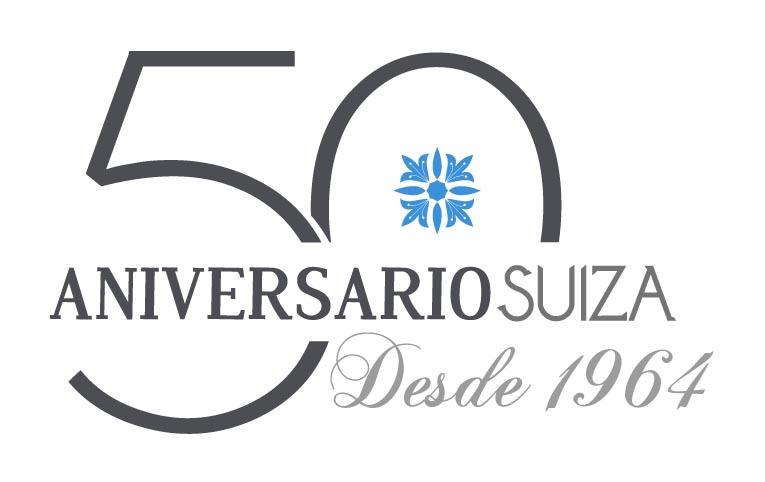 Logo50aniversario Joyería Suiza Vigo