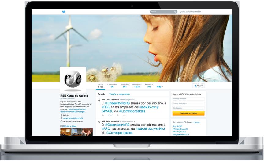 RSE Twitter influyente en cuanto a RSE y sostenibilidad