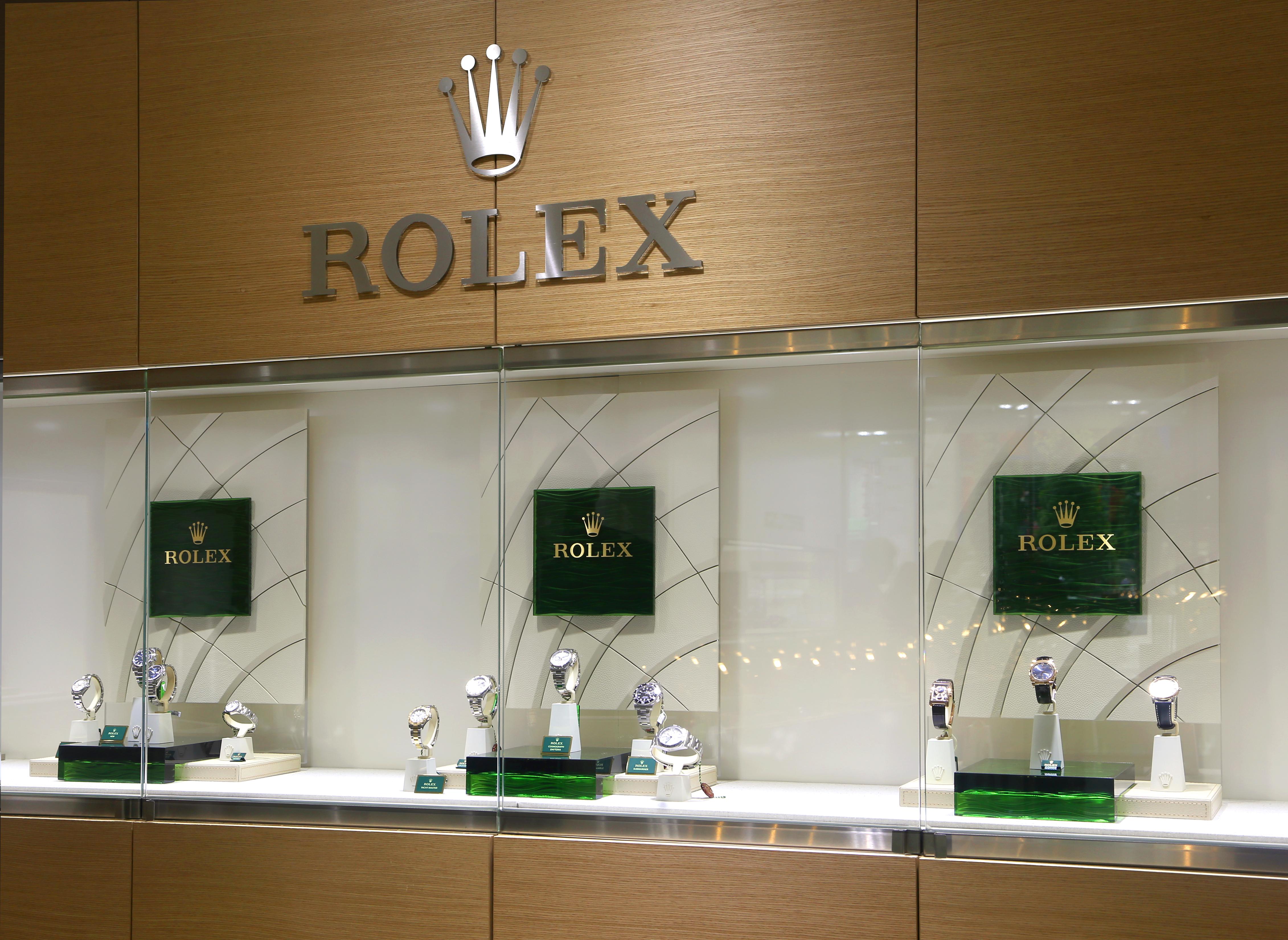 Exposición Rolex Joyería Suiza Vigo