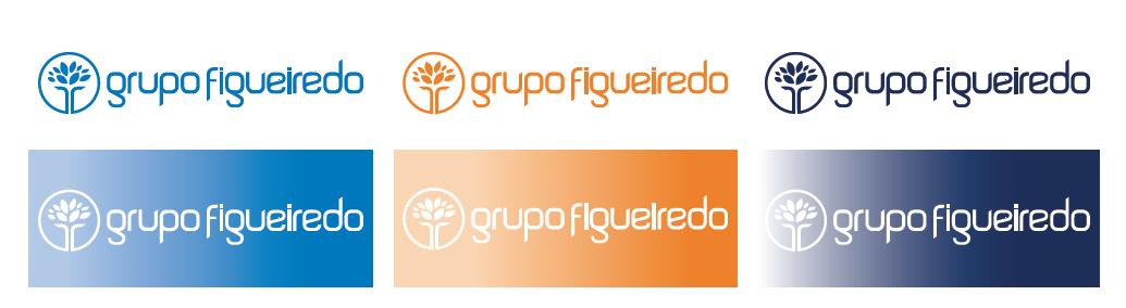 Identidad corporativa de Grupo Figueiredo, elaborada por Anónimo Advertising