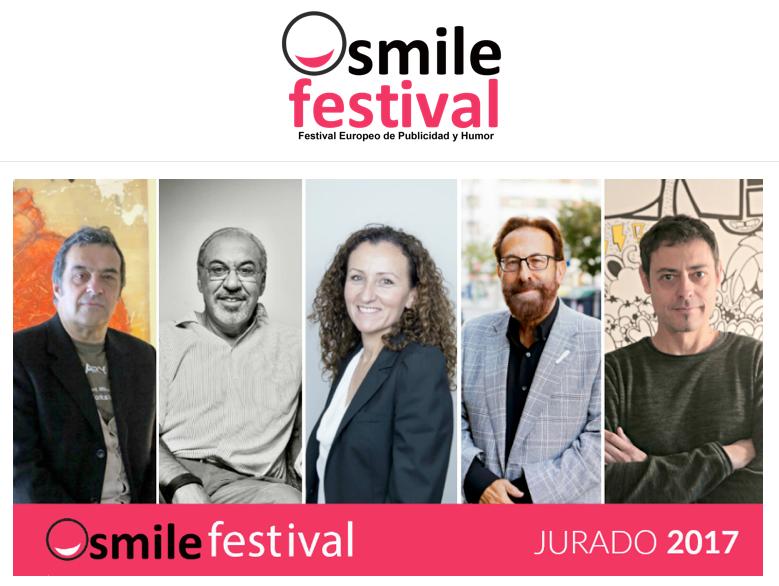 El jurado al completo del Smile Festival 2017