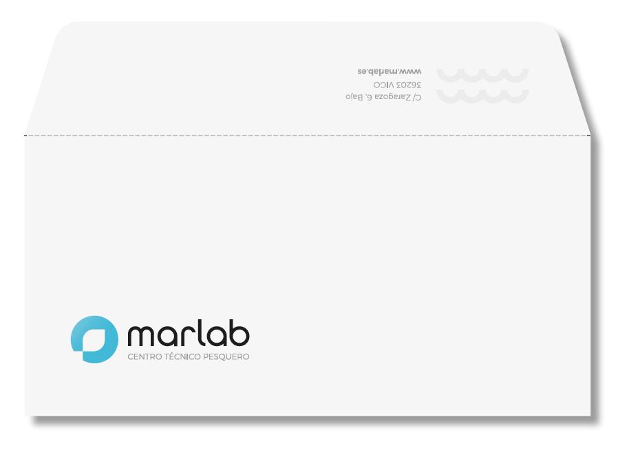 Branding para nuevo centro técnico pesquero Marlab