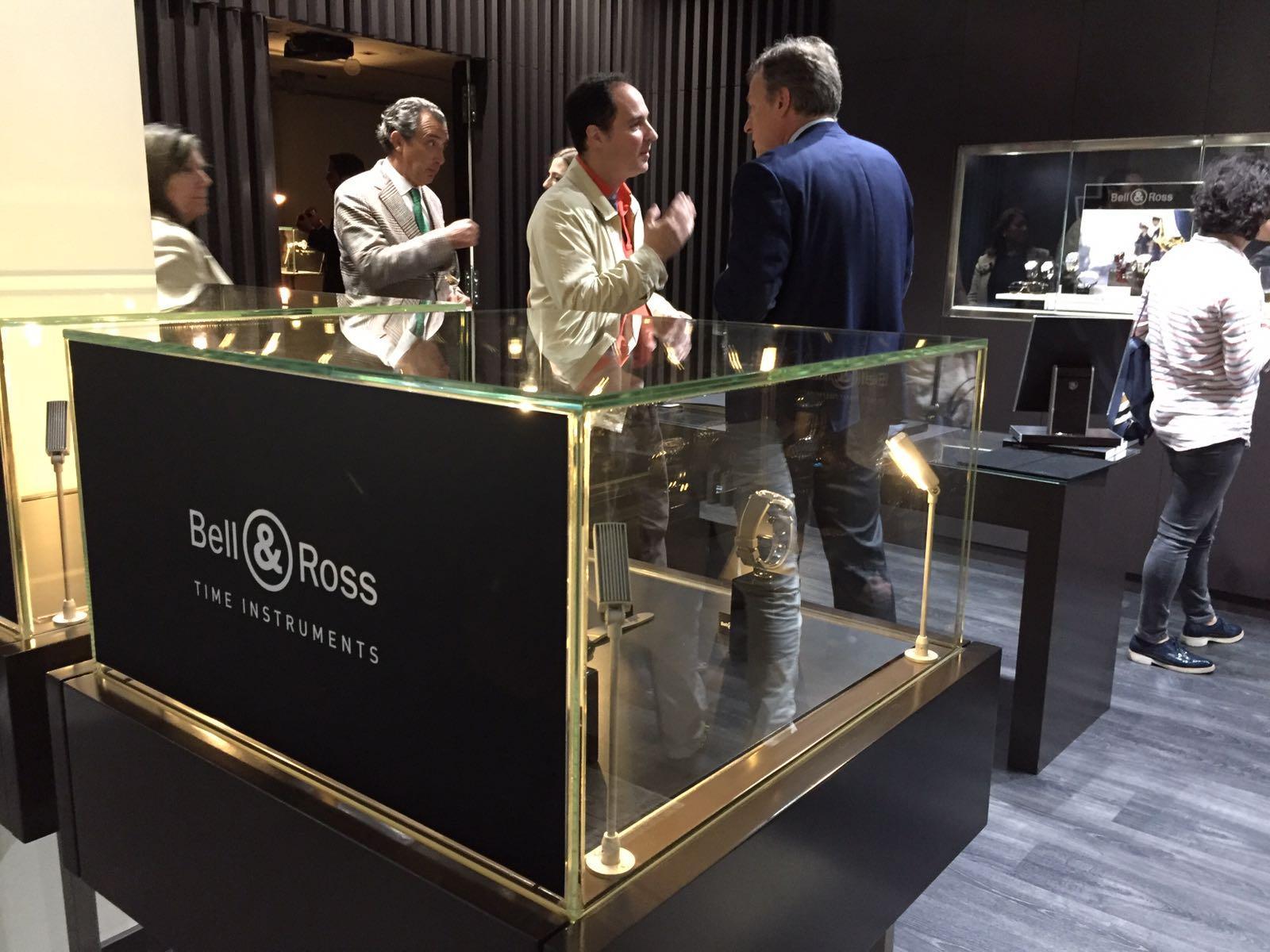 Presentación de nuevos modelos de Bell & Ross en Joyería Suiza