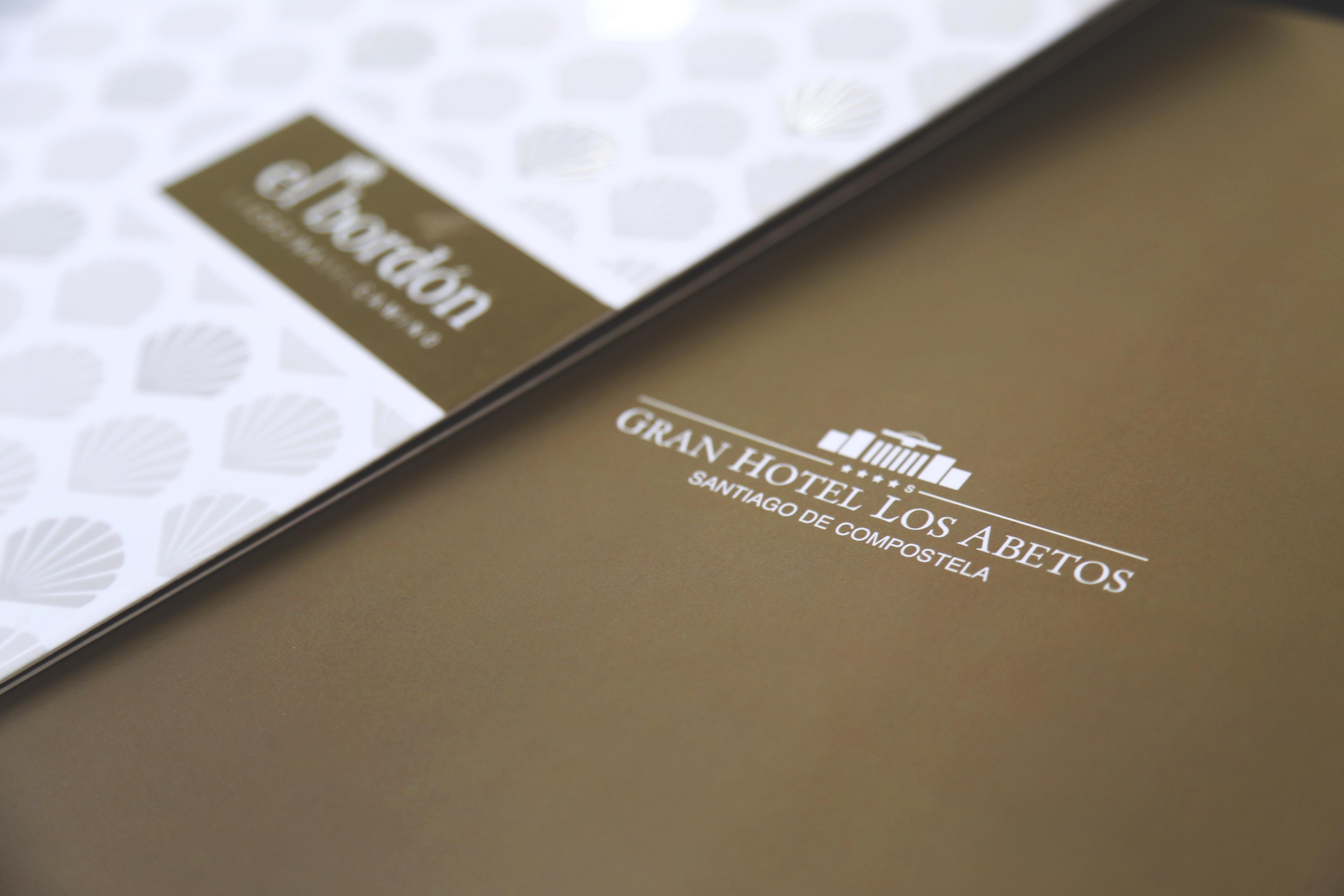 Nuevo diseño de la carta del Gran Hotel Los Abetos