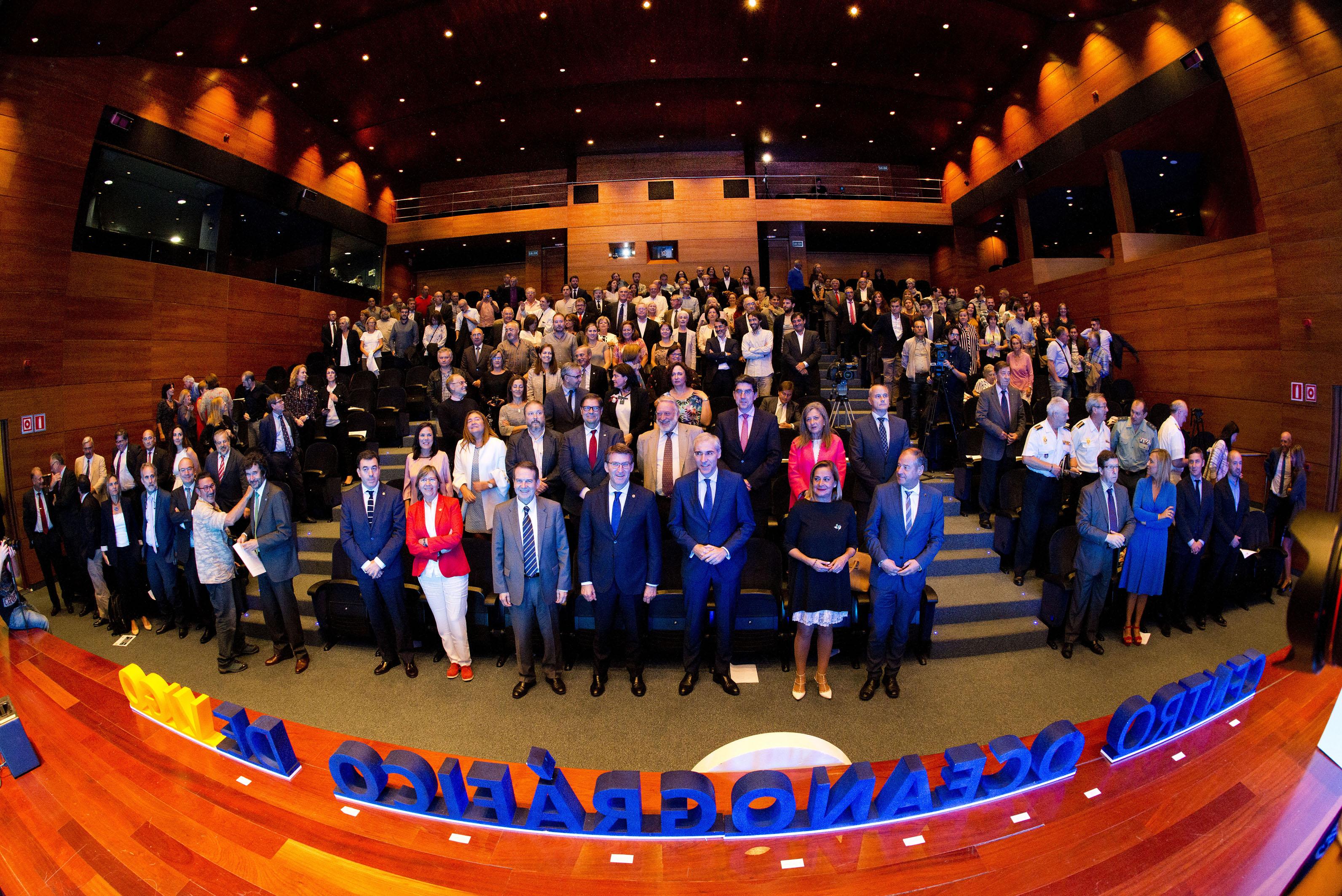 Evento 100 años del Centro Oceanográfico de Vigo