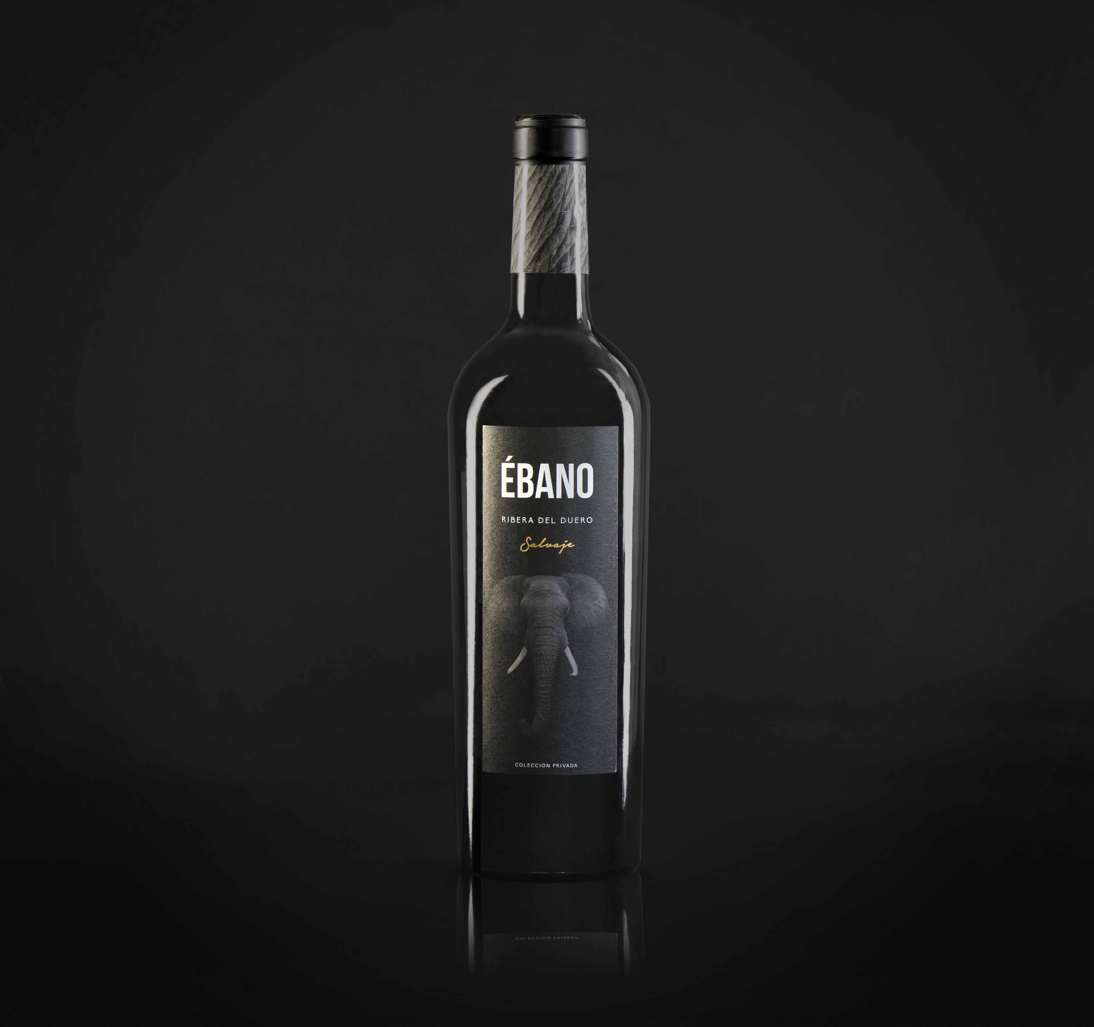 Nuevo packaging del vino Ébano salvaje