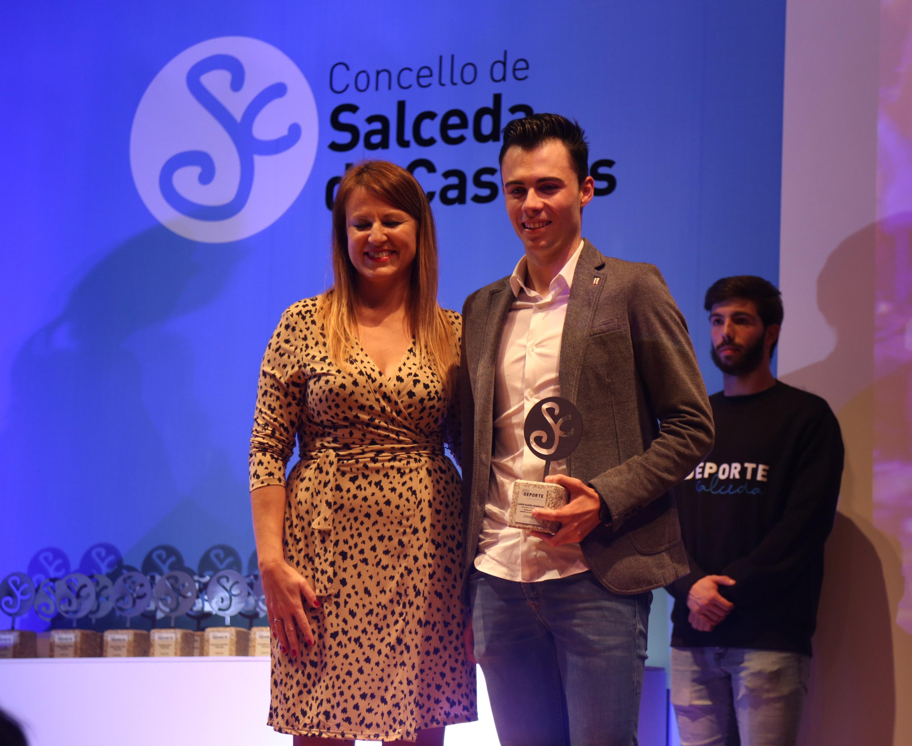 Premiados evento I Gala do Deporte del Concello de Salceda