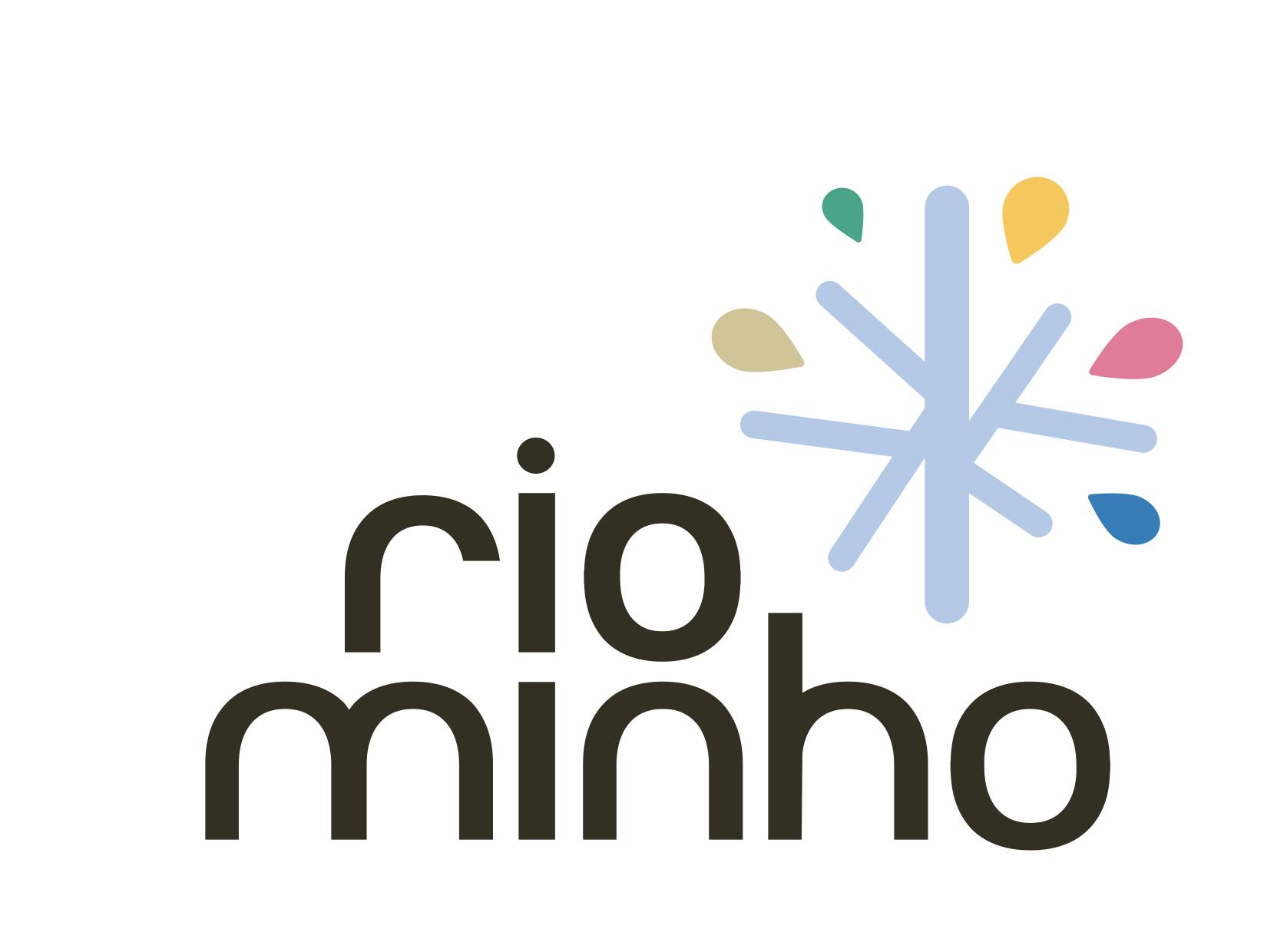 Identidad Logotipo principal Rio Minho
