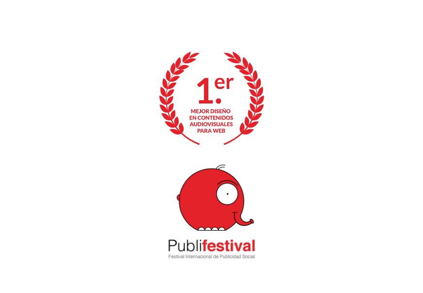 Premio Publifestival 2019 Mejor Audiovisual para web Anónimo Advertising